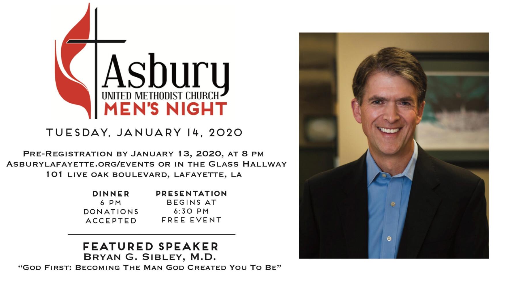 Asbury Men's Night