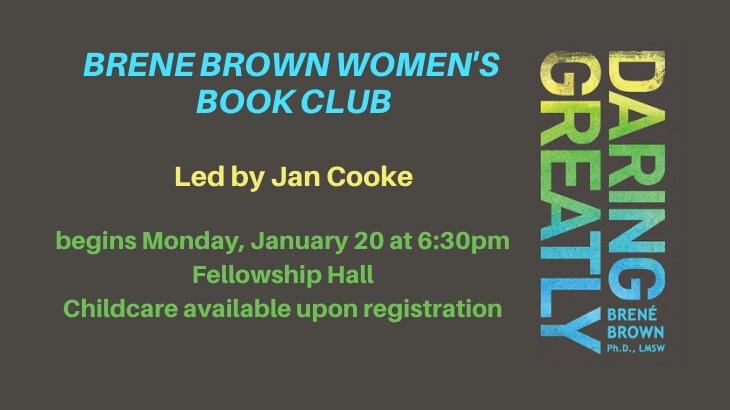 Brene Brown Women's Book Club
