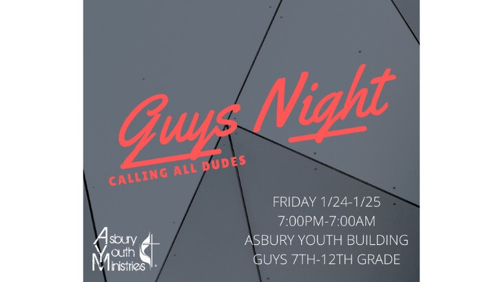 Youth Guys Lock-In