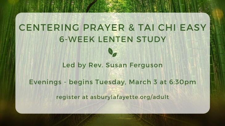 Centering Prayer and Tai Chi Easy - Evening