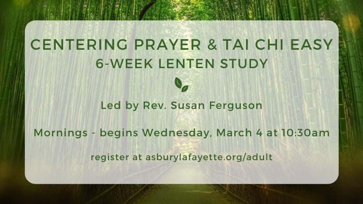 Centering Prayer and Tai Chi Easy - Morning