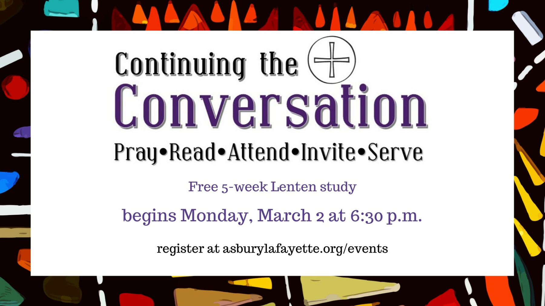 Continuing the Conversation: Simply Lent