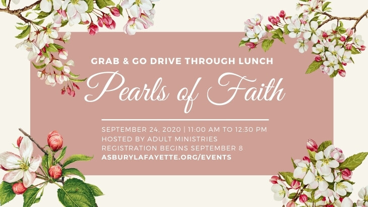 Pearls of Faith Grab and Go Drive Through Lunch
