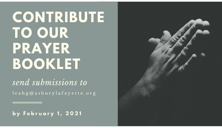 Asbury Prayer Booklet