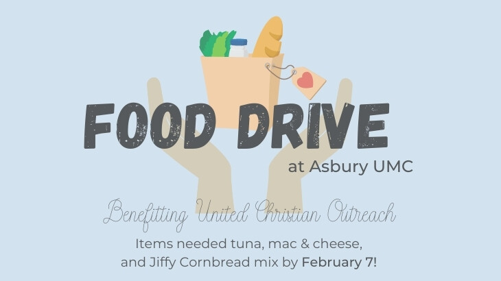 Food Drive for United Christian Outreach