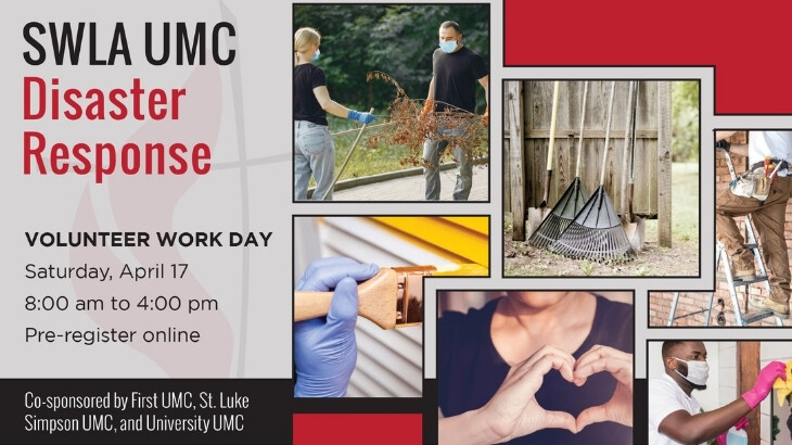 SWLA UMC Disaster Recovery Work Days