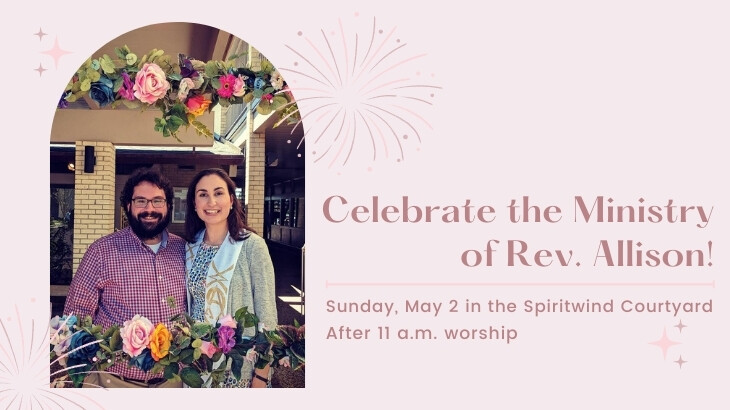 Celebration for Rev. Allison Sikes