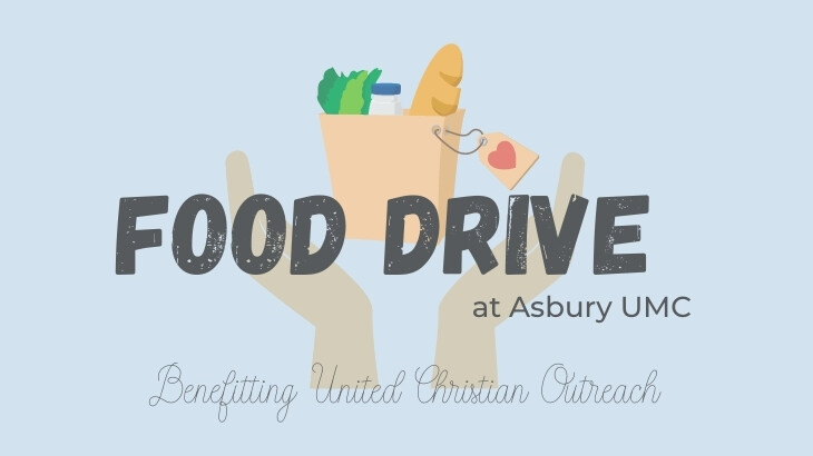 United Christian Outreach Monthly Food Drive