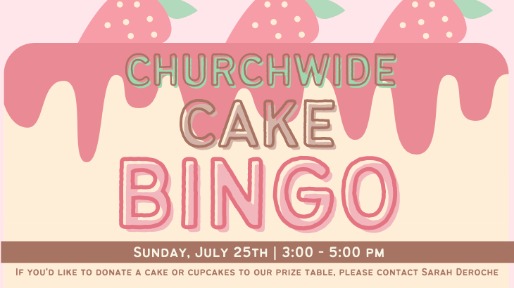 Churchwide Cake BINGO