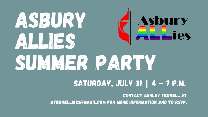 Asbury Allies Summer Party