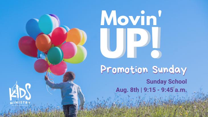 Promotion Sunday Party - Children's Sunday School