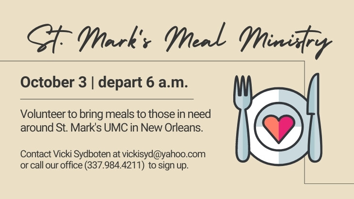 St. Mark's Meal Ministry